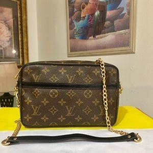 Louis Vuitton Compiegne 28 Shoulder Bag 💼 Black